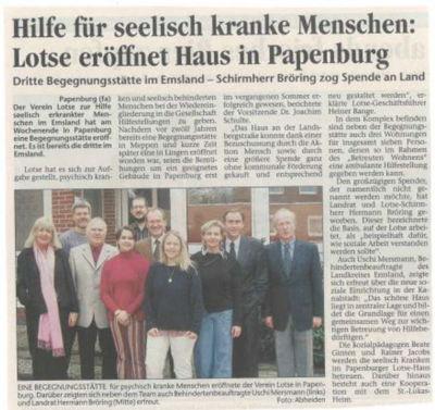 Begegnungsstätte in Papenburg eröffnet
